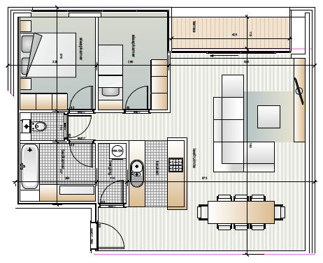 Dender Express Denderleeuw Appartement 1.10