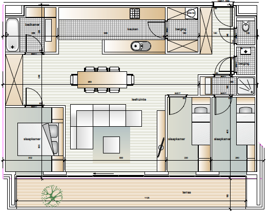 Dender Express Denderleeuw Appartement 1.14