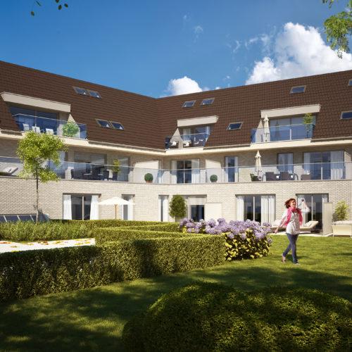Nieuwbouw appartementen en duplex-appartementen Bergendries Lokeren