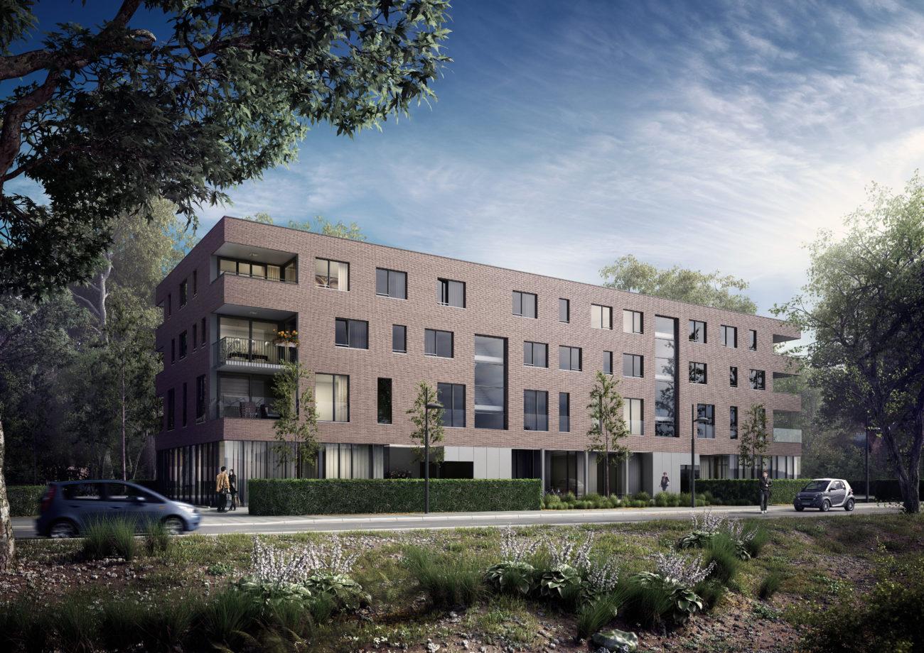 Nieuwbouw penthouse te koop De Ghellinck Sint-Denijs-Westrem