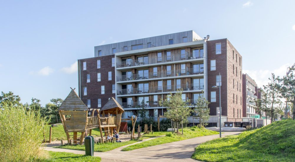 Realisatie nieuwbouwappartementen UrbanLink te Gentbrugge