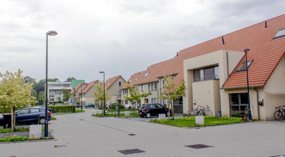 Realisatie nieuwbouwappartementen en -woningen UrbanLink Gent
