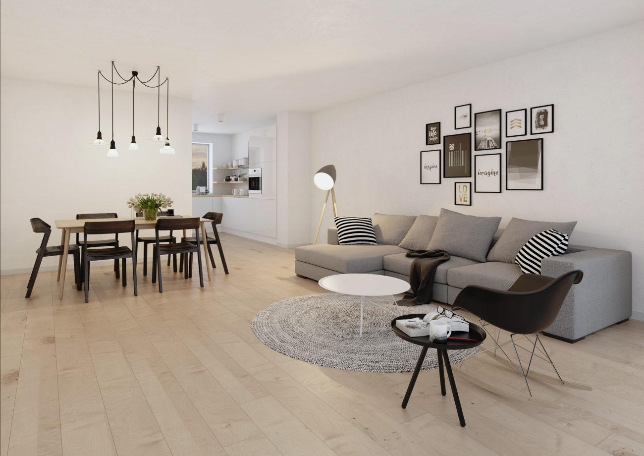 Nieuwbouw appartementen en woningen Park Bourgoyen Gent