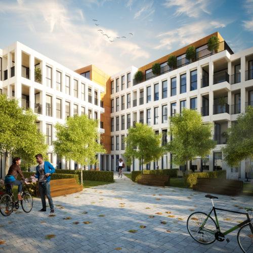 Nieuwbouw appartementen Poort van Gent