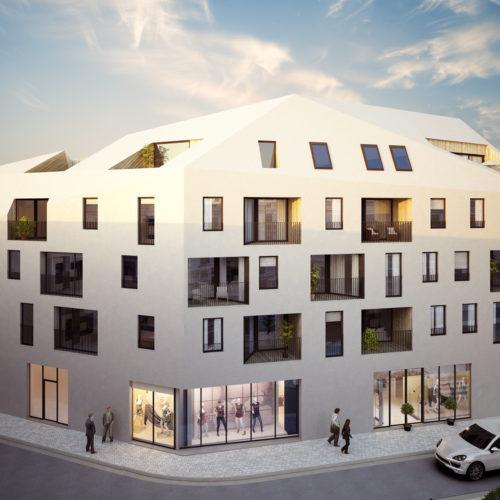 Nieuwbouw appartementen Sluizeken Gent