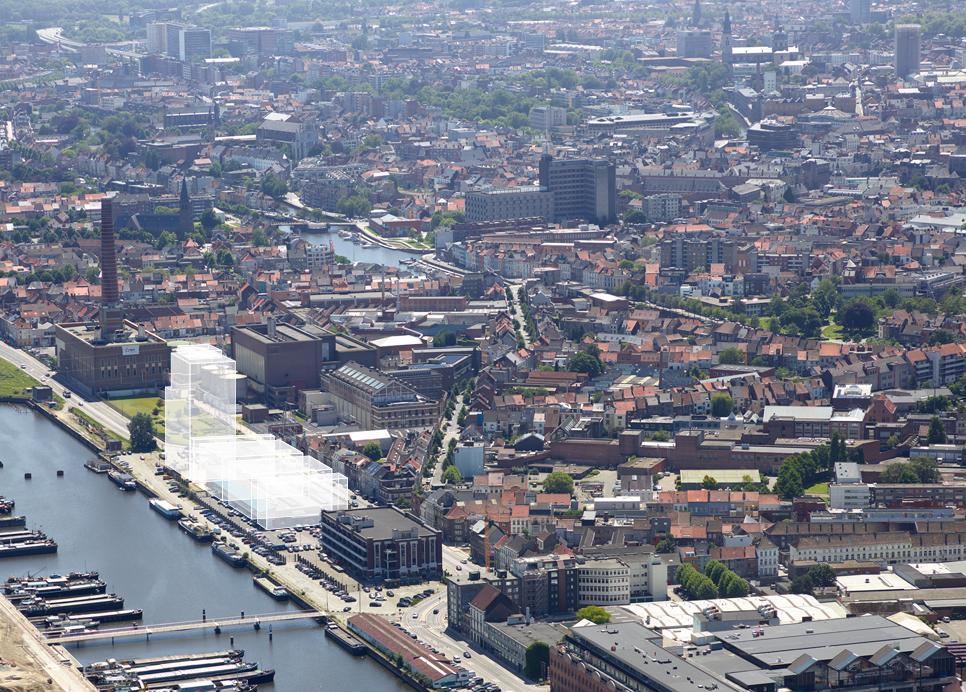 Nieuwbouwproject Appartementen en Woningen Stapelplein Gent