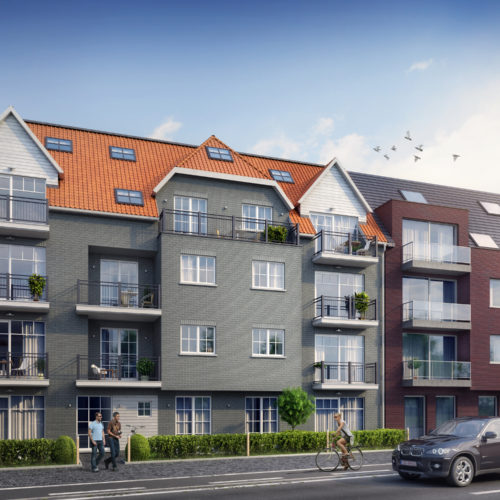 Nieuwbouw appartementen Vesta Zeveneken