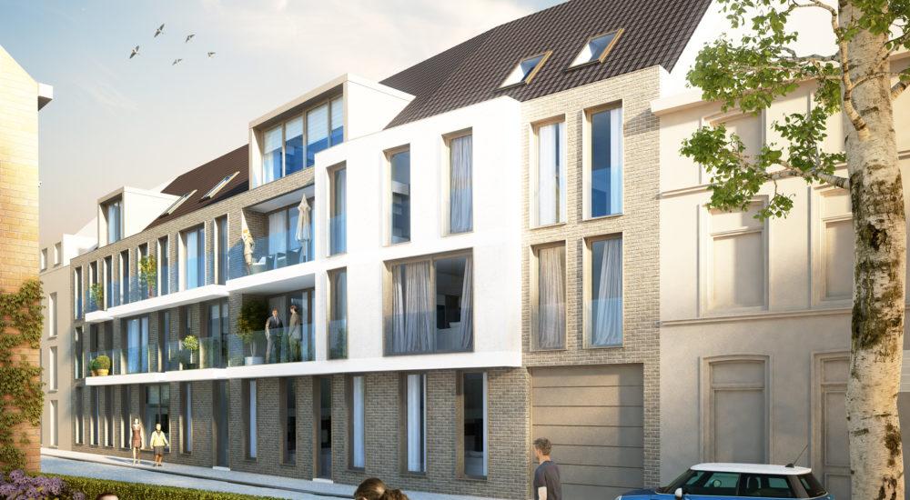 Realisatie nieuwbouwappartementen Gent