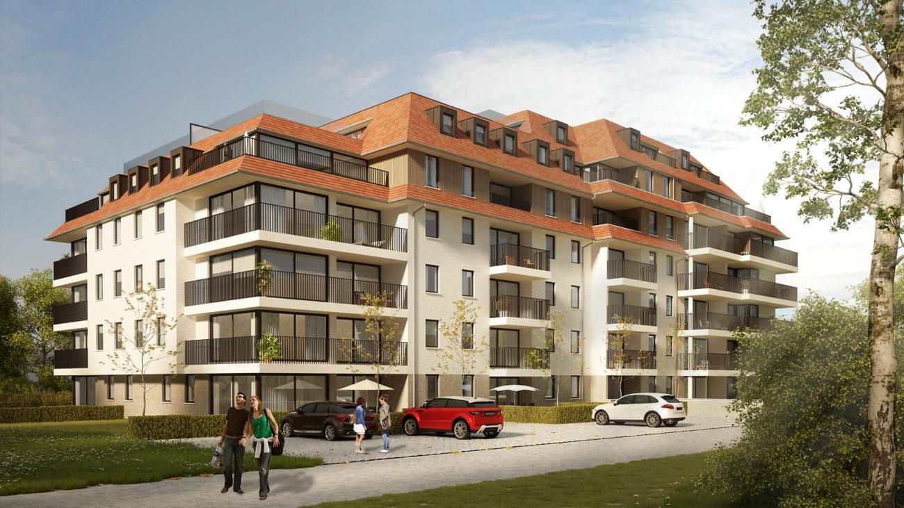 Nieuwbouw appartementen 't Zuid Harelbeke