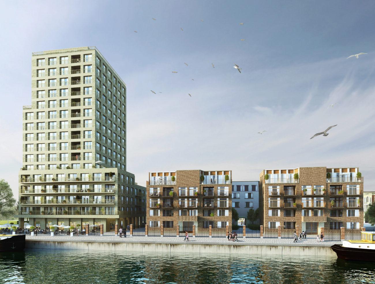 Stapelplein Gent Nieuwbouw appartementen te koop aan het water