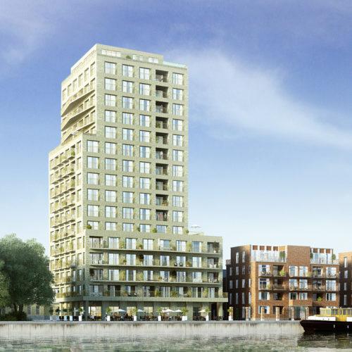 Stapelplein Gent Nieuwbouwproject