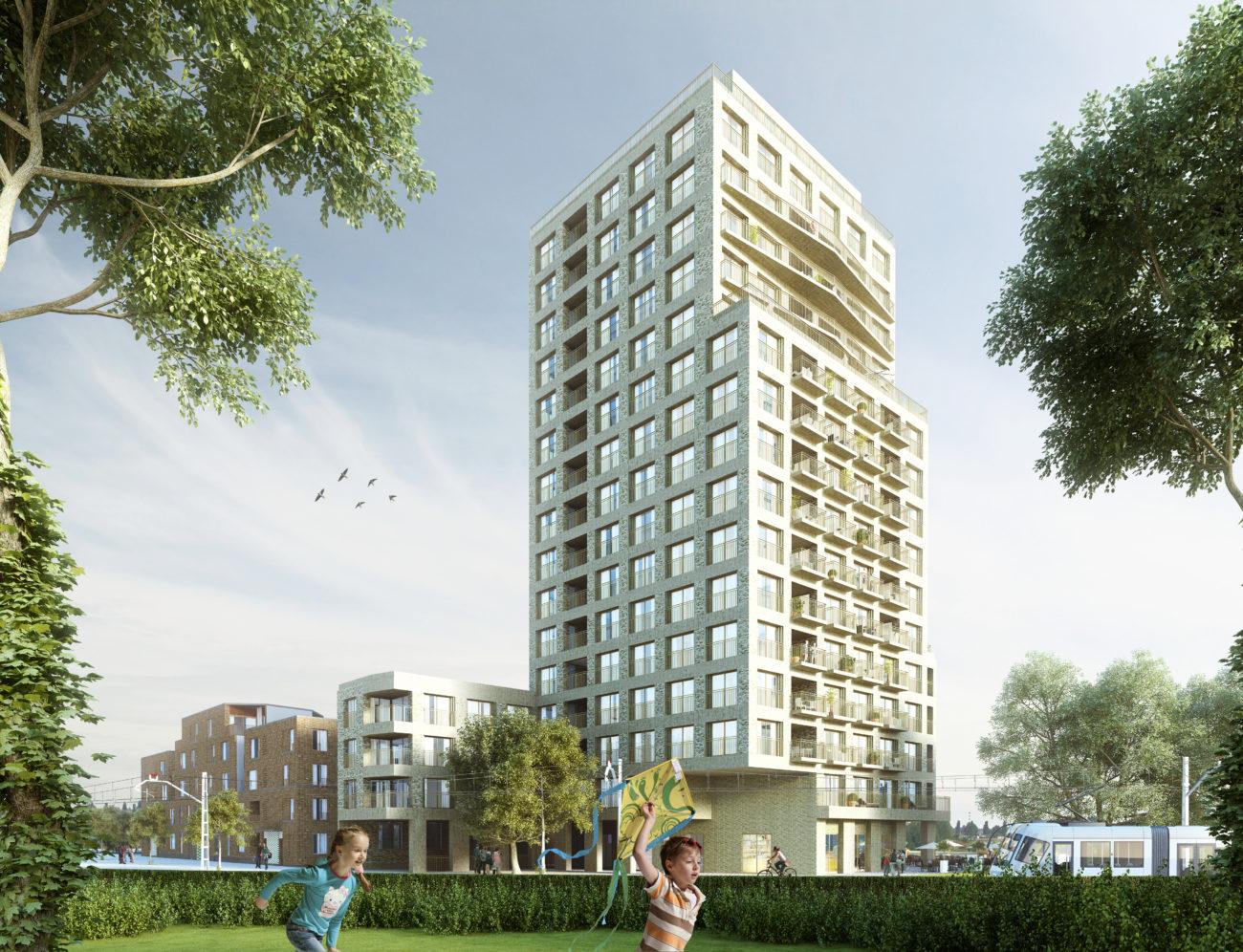 Stapelplein Gent Nieuwbouw appartementen Toren te koop