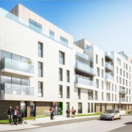 Hippodrome Laken Brussel Appartementen Penthouses