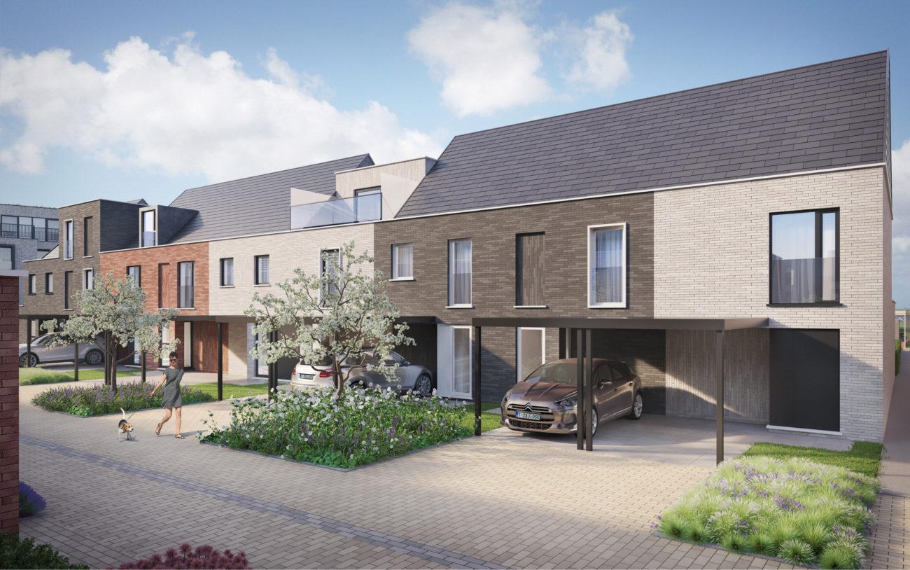 Nieuwbouw woningen Park Bourgoyen Gent