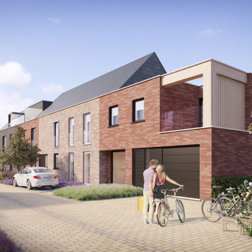 Nieuwbouwwoningen Gent Park Bourgoyen