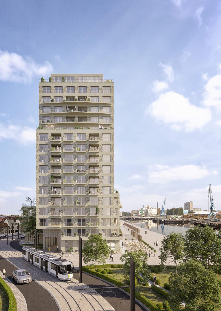 Stapelplein Gent Nieuwbouwproject Toren
