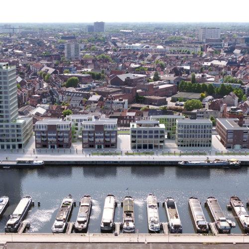 Stapelplein Gent Luchtfoto