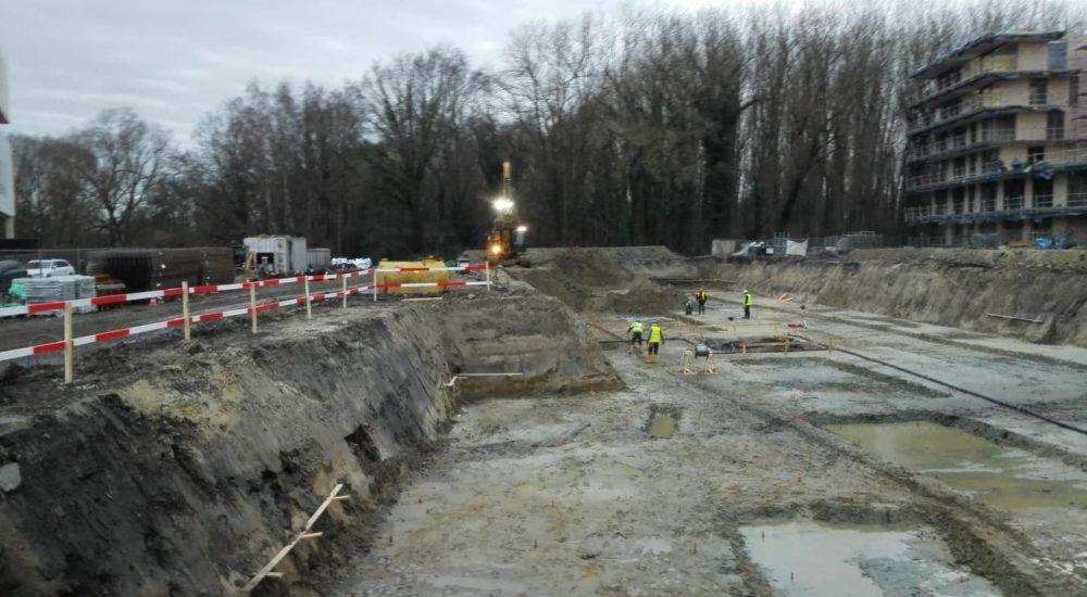 Vaartdijk Brugge werken gestart